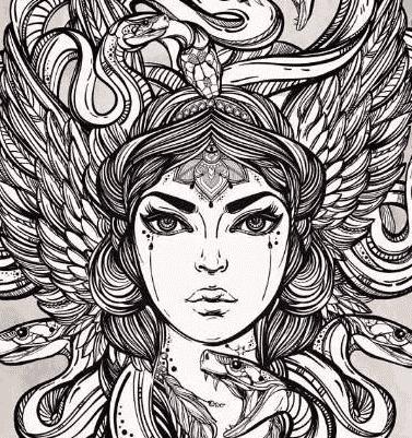 希腊神话中的蛇发女妖