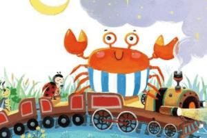 孤独的小螃蟹