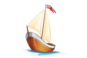 白帆和木浆