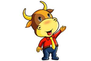 长金角的小牛