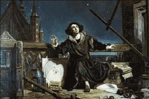 哥白尼从小立志研究气象