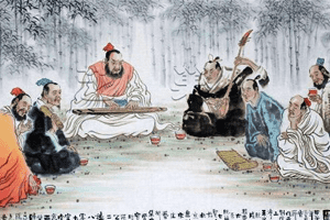 竹林七贤是指哪七个人